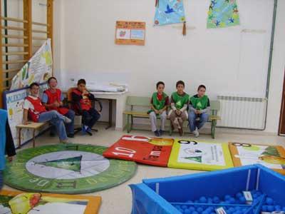 Programa divulgativo de alimentos andaluces en el colegio