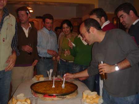 Celebrada la festividad de los santos