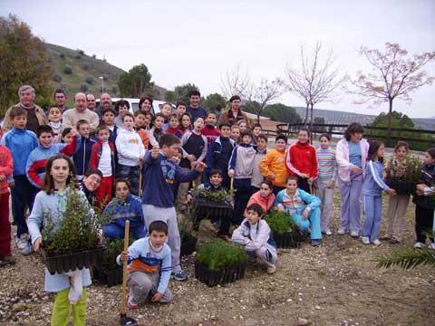 Jornada de reforestación en Valenzuela