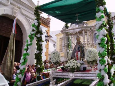 Recepción a la Virgen de la Cabeza de Baena