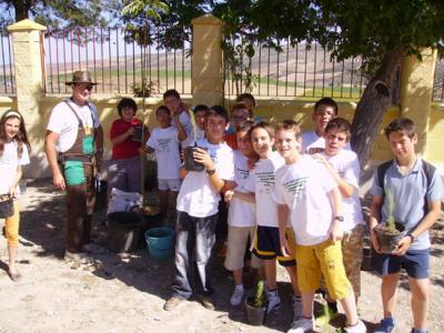 -Jornadas medioambientales y de reforestación en Valenzuela