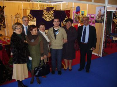 Valenzuela en el Salón Cofrade de Córdoba