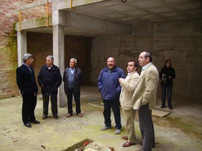 El Presidente de la Diputación visita Valenzuela