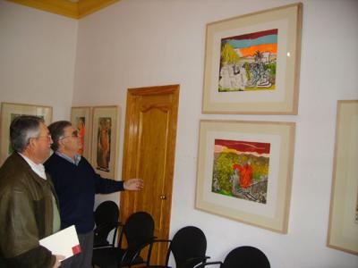 -Exposición en Valenzuela de la pintura de Carlos Franco.