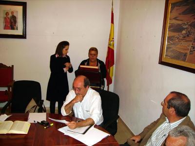 -Nueva Alcaldesa en el Ayuntamiento de Valenzuela.
