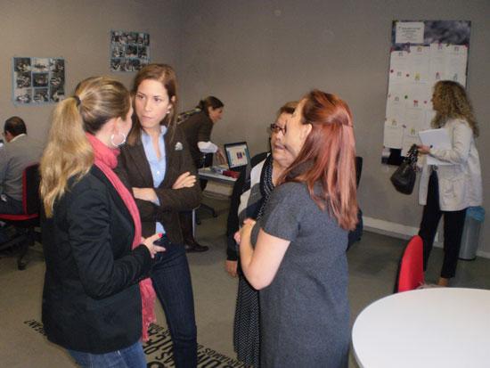 Visita de la Delegada de Economía e Innovación a Valenzuela