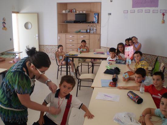 Diversidad de actividades en la escuela de verano