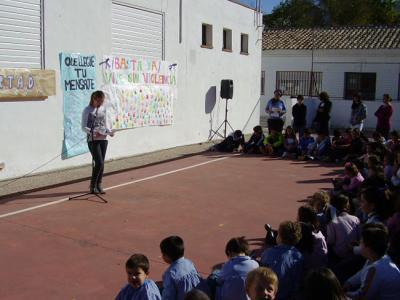 Los escolares contra la violencia de género