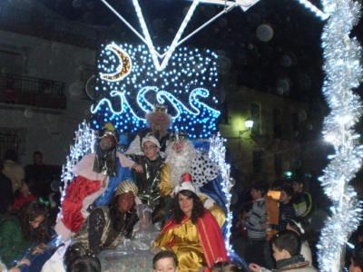-Cabalgata de los Reyes Magos en Valenzuela