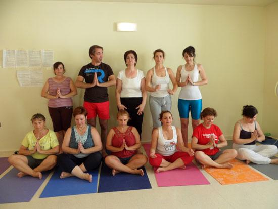 3ª edición del curso de yoga