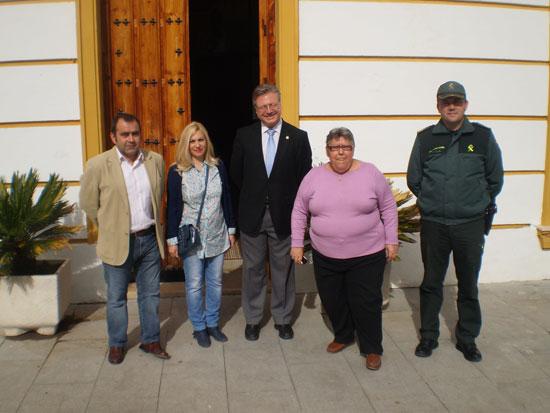 Visita Valenzuela el Subdelegado del Gobierno