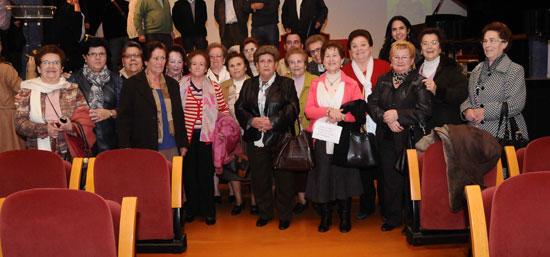La Diputación homenajea a las mujeres de las vendas