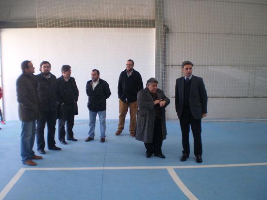 Inauguración oficial de la pista polideportiva cubierta