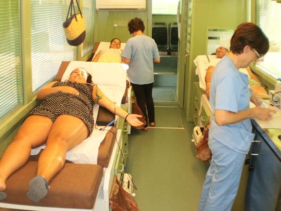 Donaciones de sangre en Valenzuela