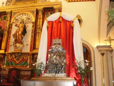 Las reliquias de San Juan de Ávila llegan a Valenzuela