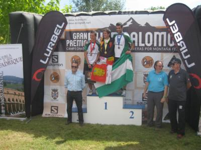 Alfonso Díaz Castilla, campeón de Andalucía y subcampeón de España.