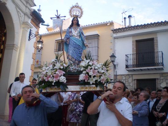 -Procesión de la Virgen de la Aurora