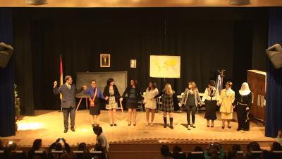 Exitosa representación teatral en Valenzuela