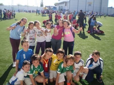 Encuentros multideportivos de la Diputación